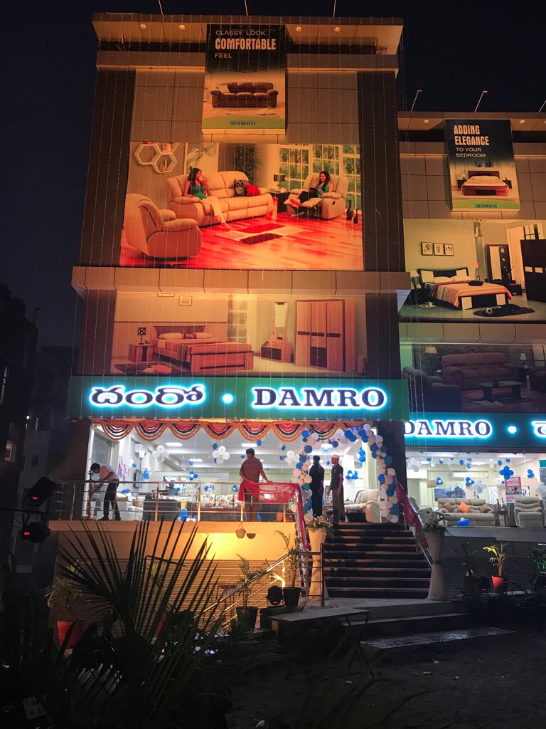 Damro-furniture-gachibowli