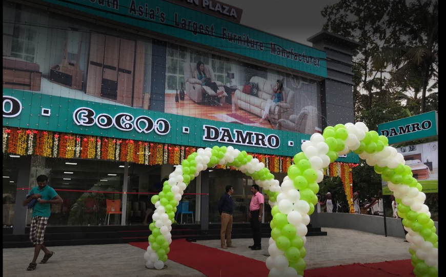 Damro opened its new branch at Chalakudy, Kerala