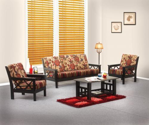 Larry Wooden Sofa